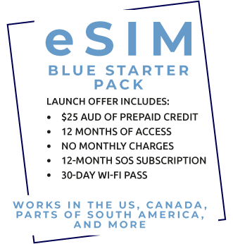 eSIM Blue Starter Pack
