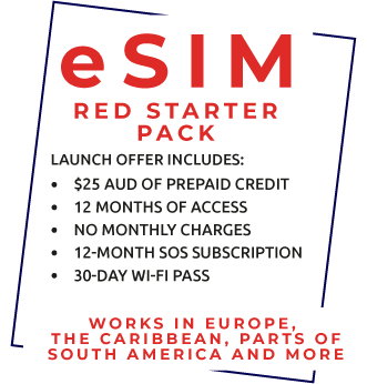 eSIM Red Starter Pack